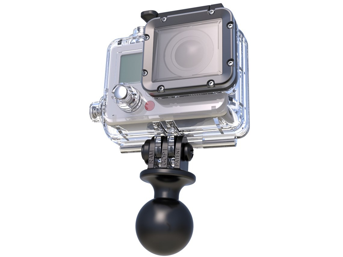 Ram Go Pro And Garmin Camera Mount