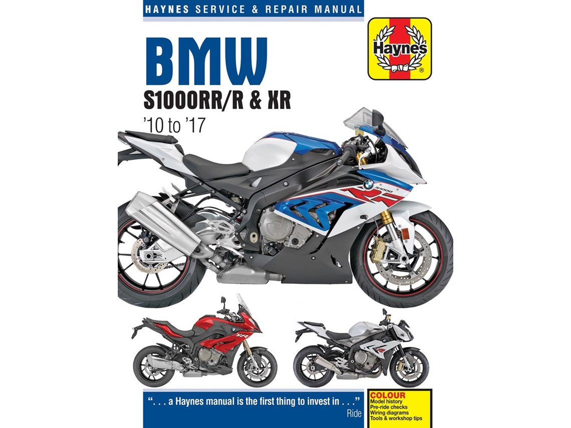 Haynes Manual S1000r  Rr  Xr
