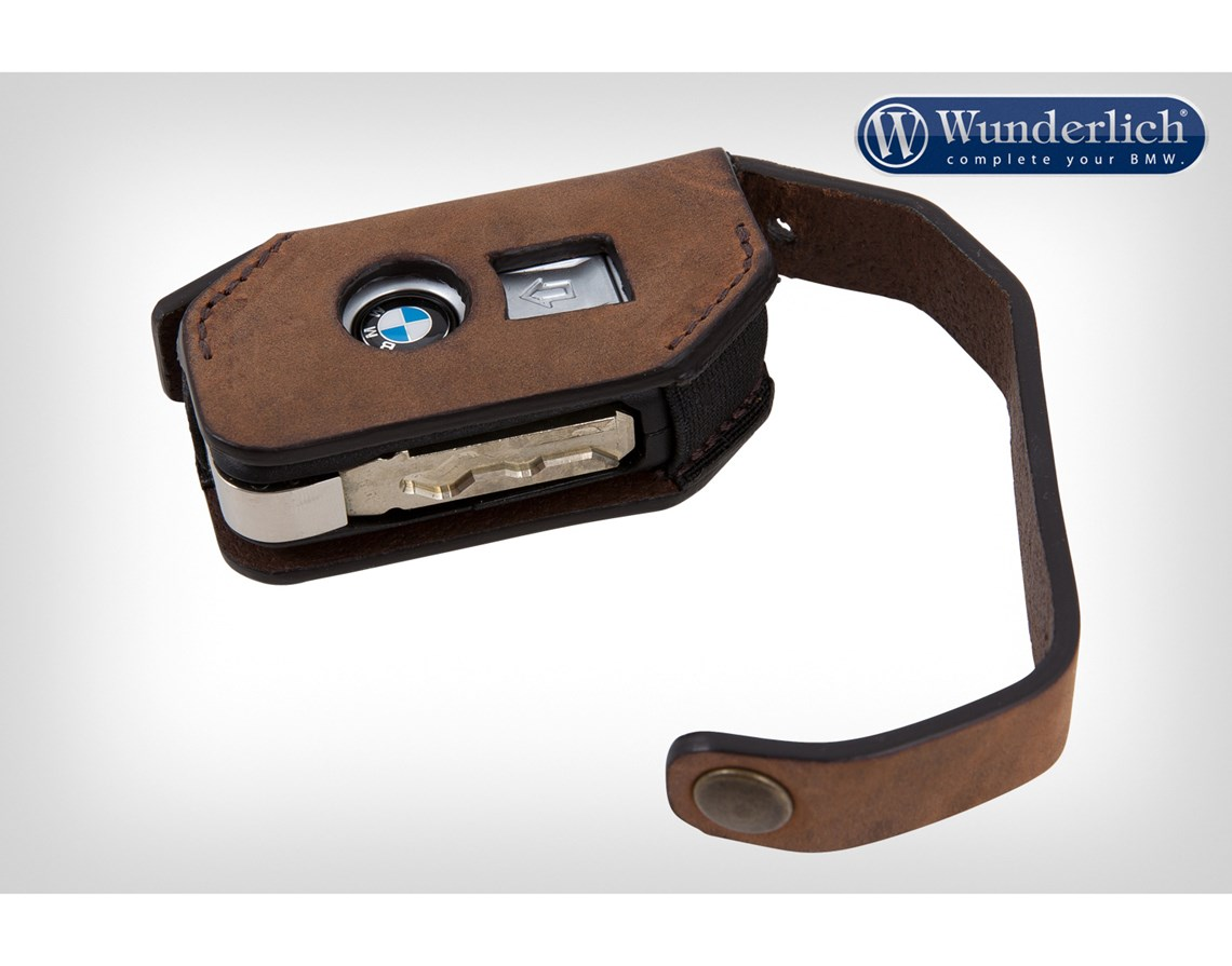 wunderlich key pouch leather brown keyless ride system. Black Bedroom Furniture Sets. Home Design Ideas