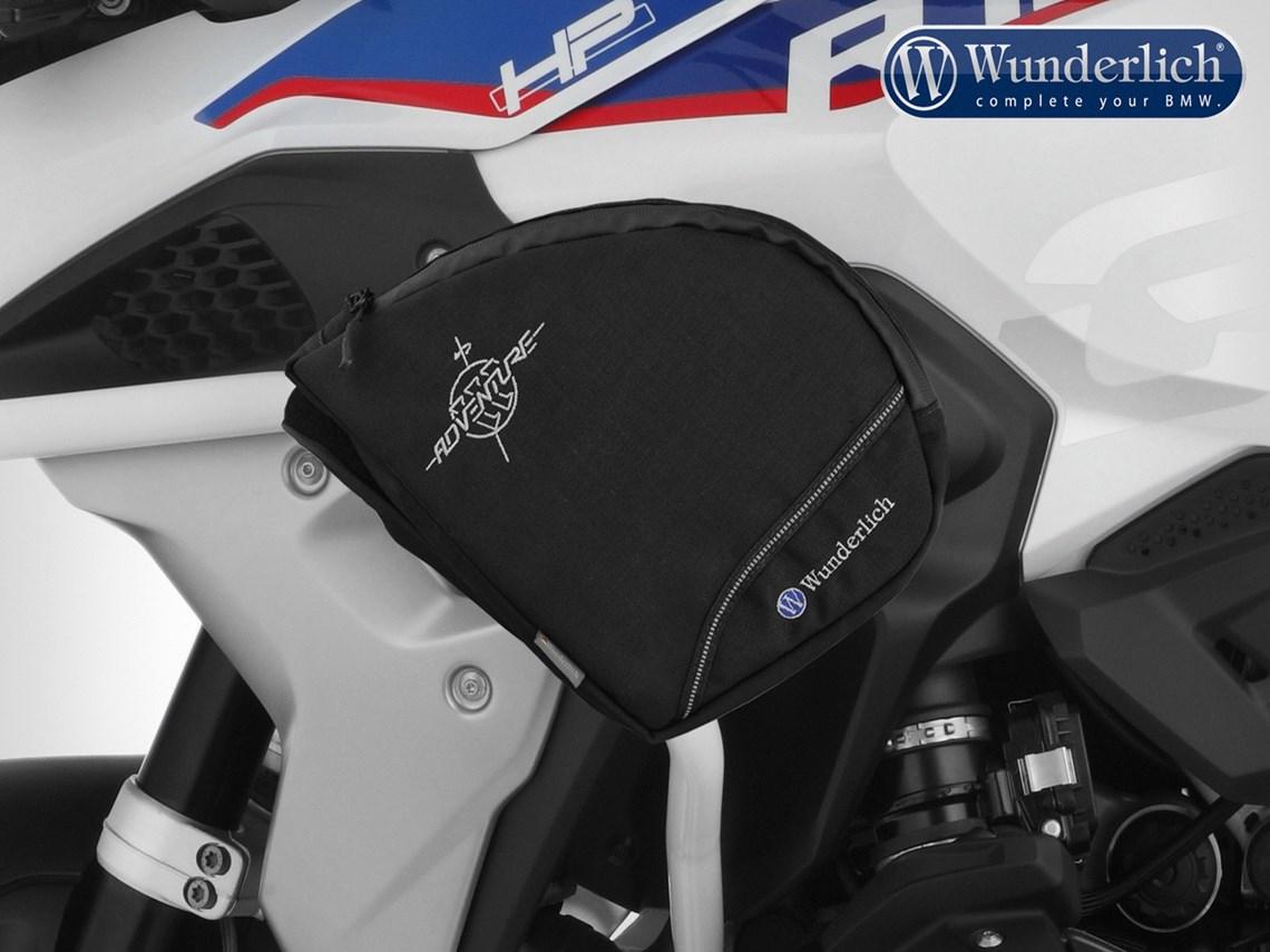 GUAIMI Borsa Portabagagli GAP BAG pour B-MW R1200GS LC Adventure 2014-2018 R1250GS Adventure Nero