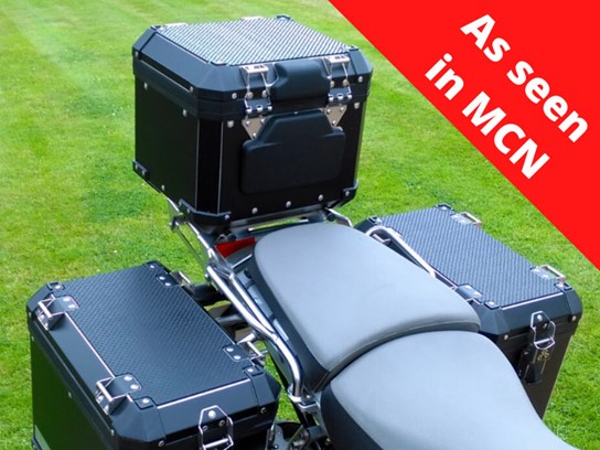 Nippy Normans top box and pannier mat kit (3 pieces) R1200 Adventure (2005 to 2012), F800 Adventure