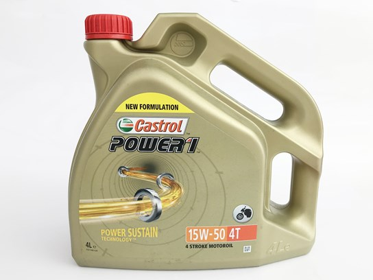 Castrol 15/50 semi synthetic oil (4 litre)