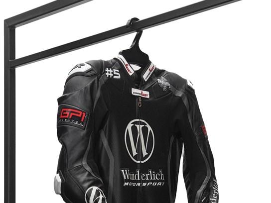 Wunderlich heavy duty motorcycle clothing hanger