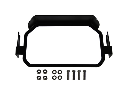 Nippy Normans TFT screen anti-theft brace WITH sun visor F850 Adventure ONLY BLACK