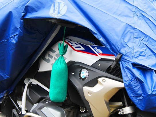 AirDriy motorcycle de-humidifier