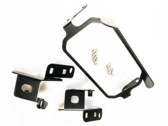 Nippy Normans TFT screen anti-theft brace WITH sun visor F900XR BLACK
