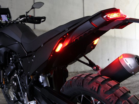 Denali T3 LED pair of pods rear (flush mount) - red/amber