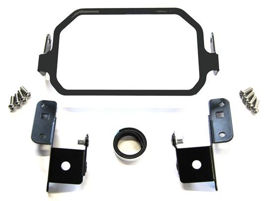 Nippy Normans  TFT screen anti-theft brace NO sun visor F900XR BLACK