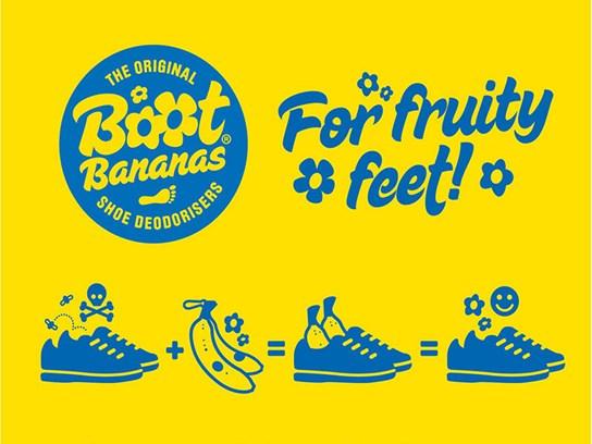 Boot Bananas - boot deodorisers