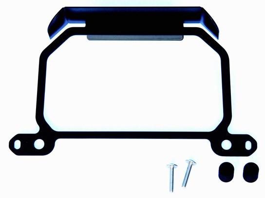 Cymarc TFT screen anti-theft brace WITH sun visor R1250RS BLACK