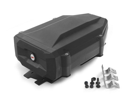 Wunderlich black tool box with two keys (left side fitment) R1200GS LC/Adventure, R1250GS/Adventure