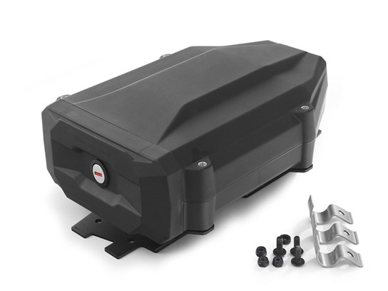 Wunderlich black tool box with two keys (right side fitment) for R1200Adventure (2004 to 2013)