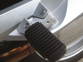 Wunderlich passenger footpeg lowering  - R1200RT all years including LC model, R1250RT