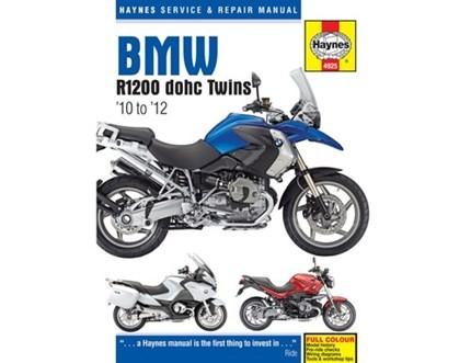Haynes manual R1200GS/Adventure/1200R/1200RT ('10 on)