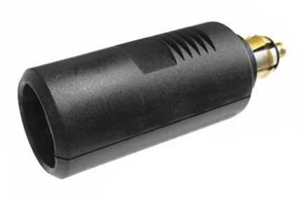 Car size plug to DIN size socket magic converter