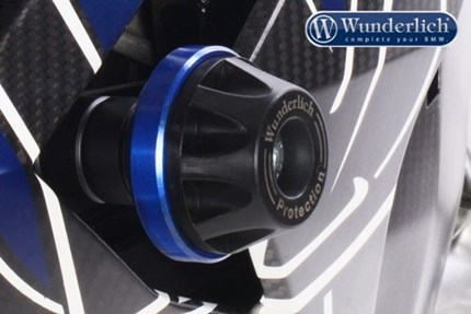 Wunderlich fairing crash protectors - blue  S1000R 2014 to 2016