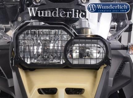 Wunderlich mesh headlight grill  (folding) - F700GS, F800GS 2013 on, F800 Adventure