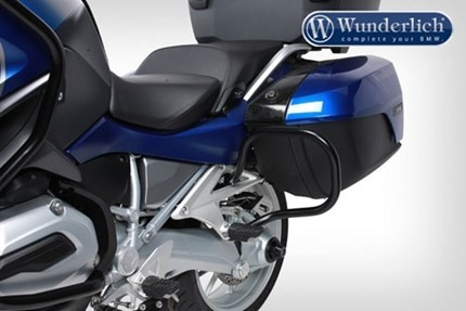 Wunderlich rear pannier bars - black finish - R1200RT LC, R1250RT