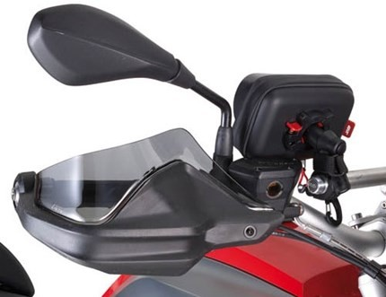 GiVi hand guard extenders (tint) - R1200GS LC, R1200 Adventure LC, R1250GS/Adventure,  F800 Adventure 2013 on, F850GS  , S1000XR