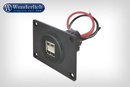 Double USB socket kit  12v (2 x 2.500mA)