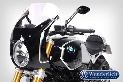 Wunderlich Daytona fairing ONLY - R NINE T - Blackstorm metallic and white (to 2016)