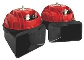 FIAMM Mini Blaster twin pack 119dB red and black