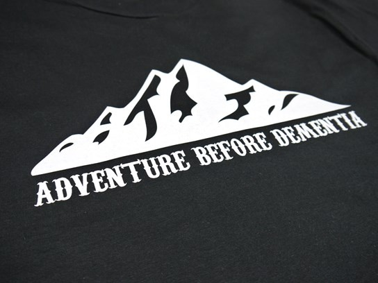 Adventure Before Dementia T shirt - black - Medium