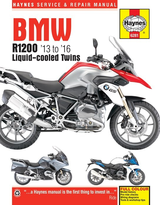 Haynes manual R1200GS LC/Adv. LC/1200RS LC ,R LC /1200RT LC~