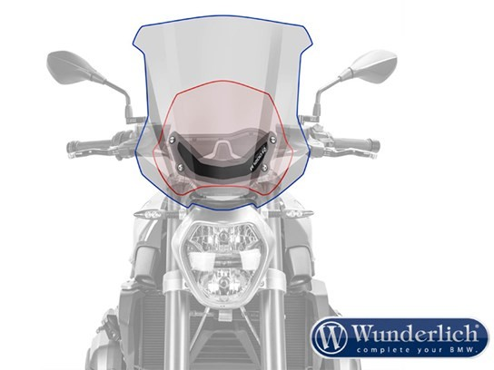 Wunderlich Touring screen (tint) - R1200R LC
