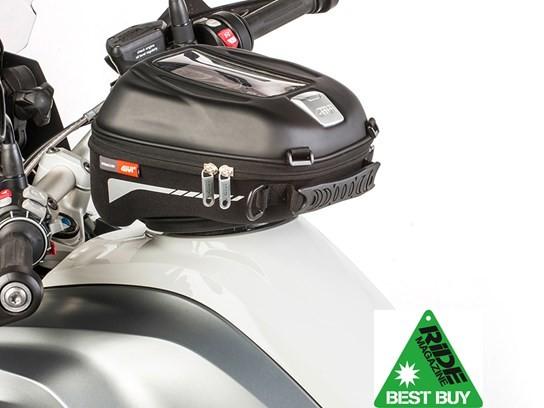 GiVi ST602B Tanklock enduro bag  (needs tank filler ring to fit)