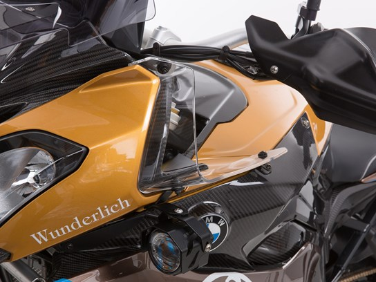 Wunderlich Wind Deflectors (clear) – S1000XR