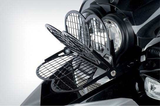 Wunderlich folding headlight grill R1200GS/Adv. ('08 on) (2010 on)