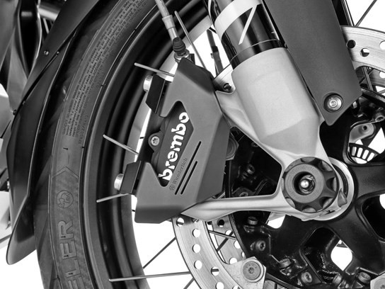 Wunderlich front caliper covers (pair) - F900R/XR, R1200GS LC/Adv LC/RS LC/R LC, R1250GS and more