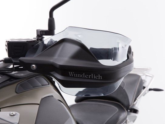 Wunderlich Hand guard extension tint R1200GS LC 2013 on, 2017 on/1250GS  and MORE models