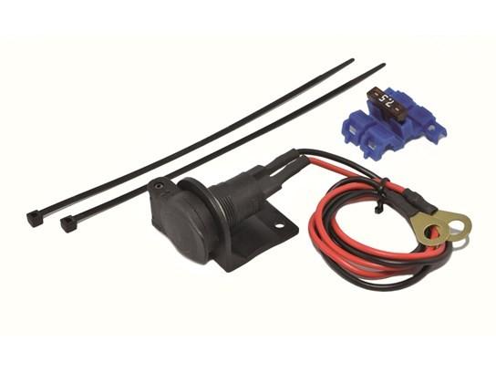 DIN' size socket kit 12V / 5A (including fuse)