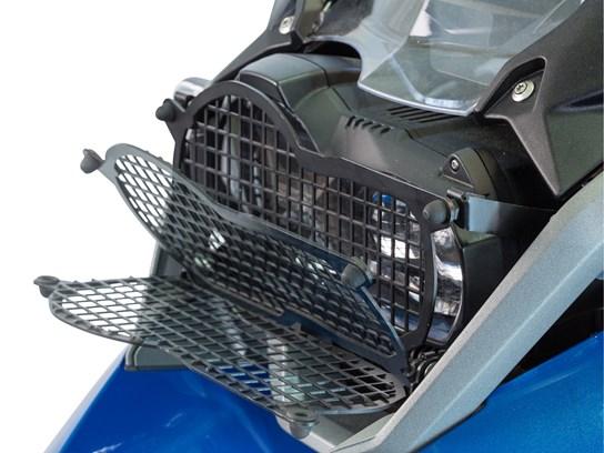 Wunderlich mesh headlight grill (folding) R1200GS LC 2017 on (all models), R1250GS, R1250 Adventure