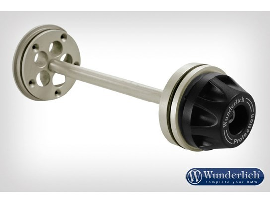 WunderlichTornado Protector Hub Cover R1200GS LC/Adv, R1250GSLC/RT LC and MORE titanium