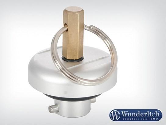 Wunderlich secure oil filler plug – R1150 models and more - silver