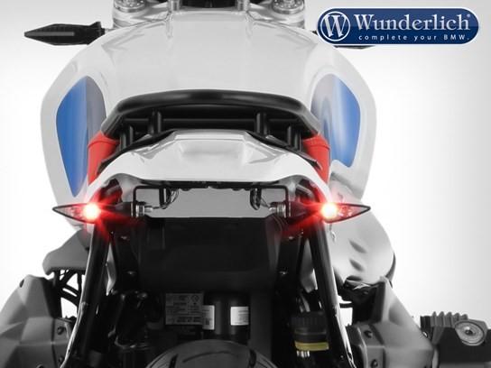 Wunderlich Enduro rear conversion WITHOUT rear light - Monolith metallic matt paint