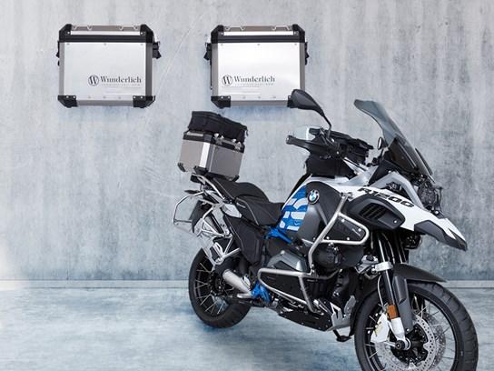 Wunderlich Aluminium pannier storage system R1200GS 2013 on Adv. LC 2014 on, 2018 on, R1250GS/Adventure
