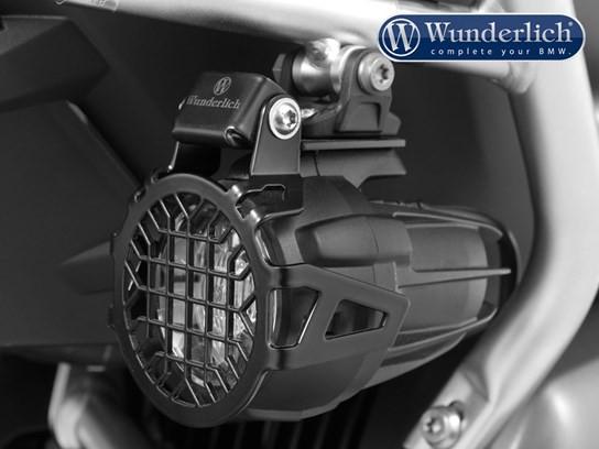 Wunderlich Nano spotlight grills (black) for BMW spotlights
