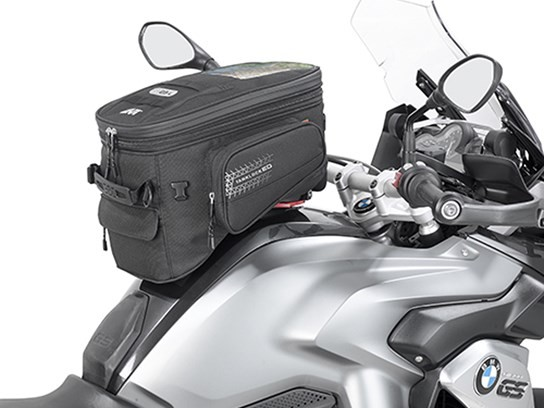 GiVi Lockable Enduro bag (needs tank filler ring to fit)