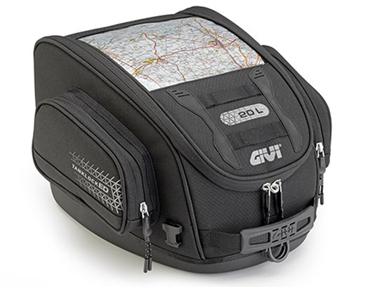 GiVi Lockable City tank bag (needs tank filler ring to fit)