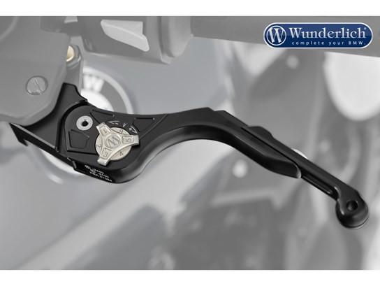 Wunderlich vario clutch lever (black) R1200GS LC, R1250GS, R1200 Adv LC, R1200RT LC 2014 on, R1250RT, R NINE T, K1600series and MORE