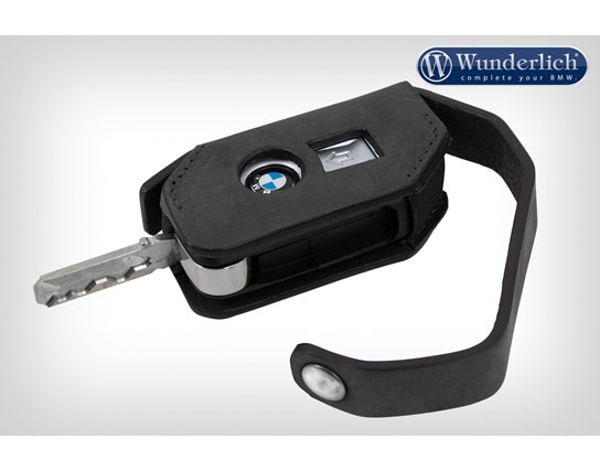 Wunderlich key pouch leather black (Keyless Ride System)