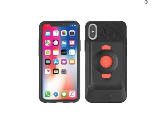 "Bike Console waterproof case for iPhone 8 PLUS with Ram 1"" ball"