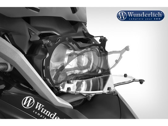 Wunderlich clear headlight grill (folding) R1200GS LC 2017 on (all models), R1250GS