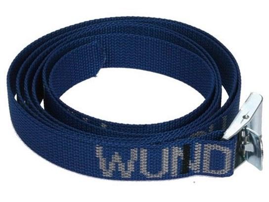 Wunderlich tie down strap (200cm long) each (blue)