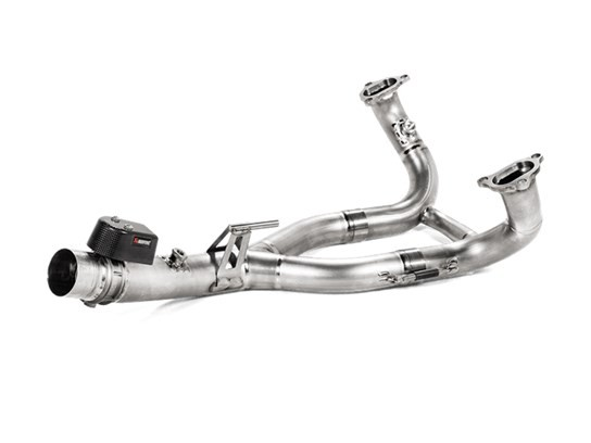 Akrapovic conical titanium collectors R1250GS, R1250GS LC Adv. R1250R, R1250RS