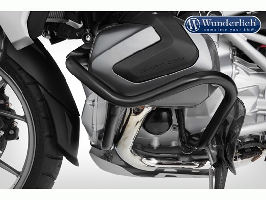 Wunderlich engine bars R1250GS 2018 on, R1250R (black on stainless)